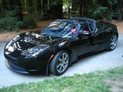 The fabulous Tesla Roadster