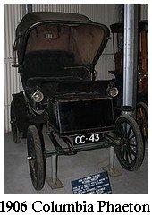 1906 Columbia Phaeton