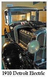 1910 Detroit Electric Car