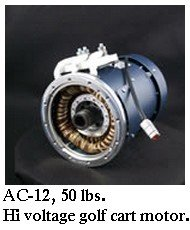 HPEVS AC-12 motor