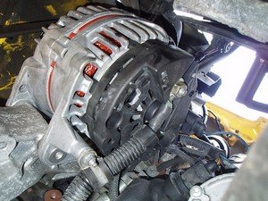 Alternators are AC Electricity Generators