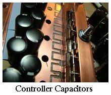 controller capacitors