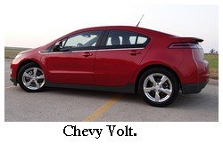 red chevy volt