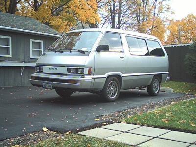 My 85' Toyo Van.
