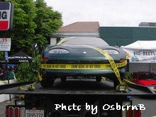 EV crime scene