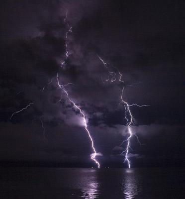Excellent lightning picture