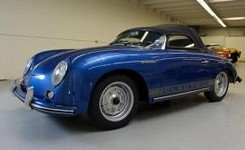 dukes garage blue speedster