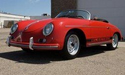 dukes garage red speedster