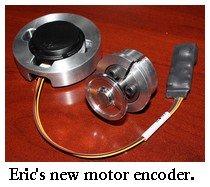 EV motor encoder