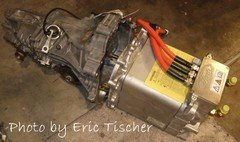 AC Electric Car Motor