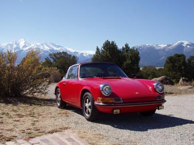 Porsche 911 T Targa Electric Car Conversion Candidate