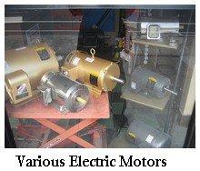 various electric motors