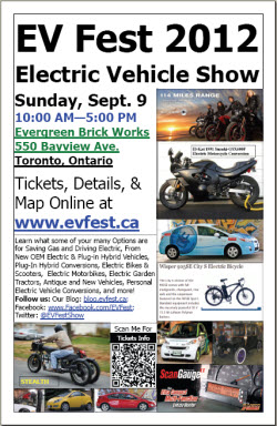 EV Fest 2012 Toronto
