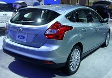 ford focus electric blue