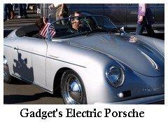 Gadget's electric porsche