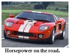 horsepower on the road