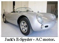 electric spyder with AC motor