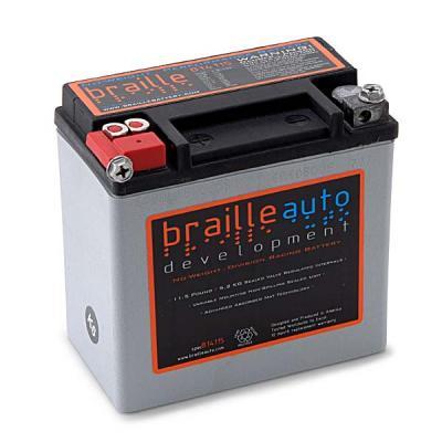 Braille batteries