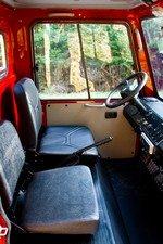 might e truck interior