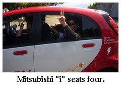 mitsubishi imiev four seat