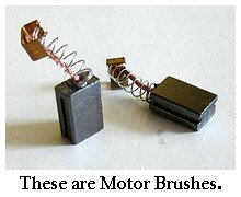 electric motor brushes