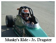 Munky's Ride Jr. Dragster