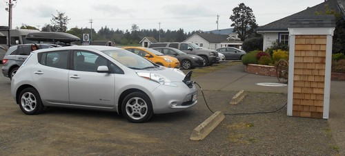 my nissan leaf