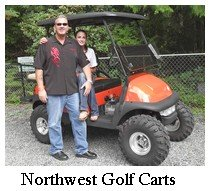 northwest golf carts