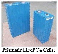 prismatic LiFePO4