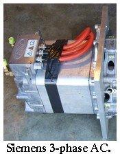 Siemens AC electric motor