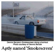 Smokescreen Electric Drag Racer