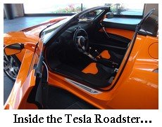 tesla roadster cockpit