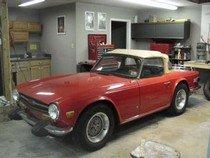 Smokey's TR6 Triumph