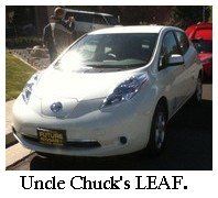 Uncle Chuck's nissan leaf