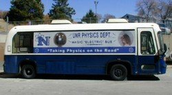UNR giant electric bus