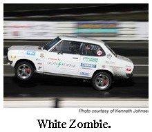 white zombie flying