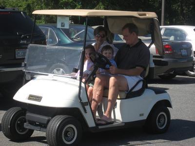 Grandpa's Groovy Golf Cart